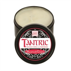 Tantric Soy Massage Candle With Pheromones  - Pomegranate Ginger