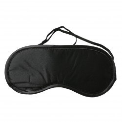 Sex and Mischief Satin Blindfold - Black