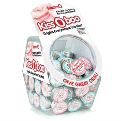 Kissoboo Candy Bowl - 48 Count - Assorted Flavors
