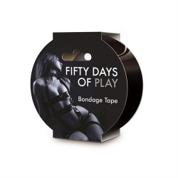 Fifty Days of Play - Bondage Tape - Black
