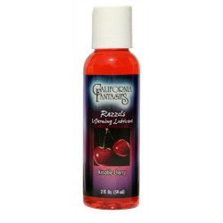 Razzels Warming Lubricant - Kissable Cherry - 2 Oz. Bottle