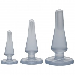 Crystal Jellies Anal Initiation Kit - Clear