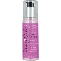 Crazy Girl Wanna Be Dazzling Sparkling Body Lotion With Pheromones - Sugar Bomb - 6 Fl. Oz. / 177 ml