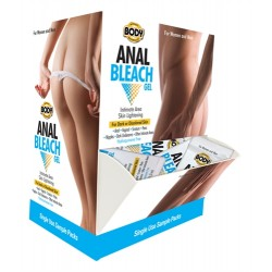 Body Action Anal Bleach Gel 50 Pieces Display