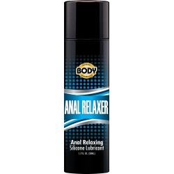 Body Action Anal Relaxer Silicone Lubricant 1.7 Oz