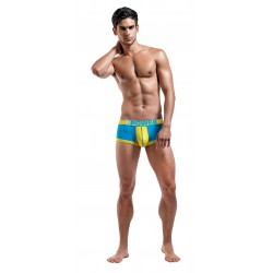Futbol - Attacker Mini Short - Small - Turquoise/ Yellow