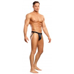 Satin - Jock - Small/ Medium - Black