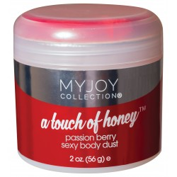 A Touch of Honey - Passion Berry Sexy Body Dust - 2 Oz. Jar (56g)