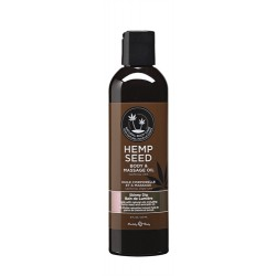 Hemp Seed Massage Oil - 8 Fl. Oz. - Skinny Dip