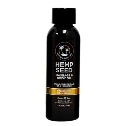 Hemp Seed Massage Oil - 2 Fl. Oz. - Dreamsicle