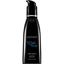 Wicked Aqua Chill Water Based Cooling Lubricant 4.0 Fl Oz. / 120 ml