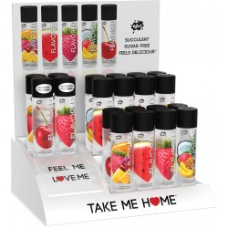 Wet Flavored Countertop Display and Testers