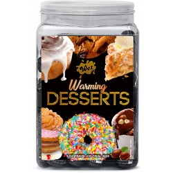 Wet Warming Desserts Assorted 1 Fl Oz Counter Bowl Display 36pc