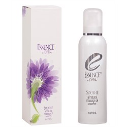 Essence Soothe - All Natural Massage Oil - Peppermint - 4 Fl. Oz.