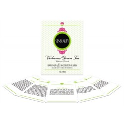 Sensuality Bath Set - Verbena and Green Tea