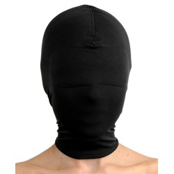 Blackout Breatheable Hood With Padded Blindfold - Black