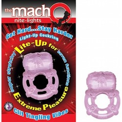 The Macho Night Light - Purple