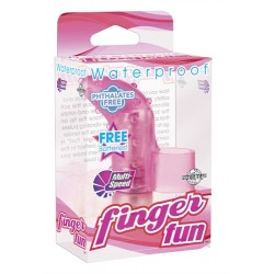 Waterproof Finger Fun - Pink