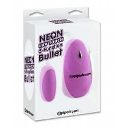 Neon Luv Touch 5 Function Bullet - Purple