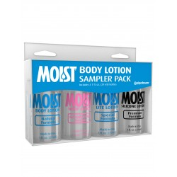 Moist Body Lotion Sampler Pack - 1 Fl. Oz. Bottles
