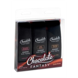 Chocolate Fantasy Sampler - Assorted 3-Pack