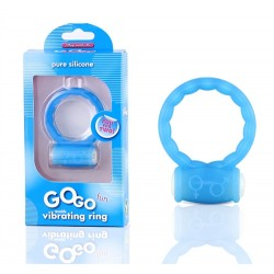 Gogo Fun Vibrating Ring - Blue
