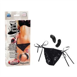 Remote Control 10-Function Little Black Panty - Panty
