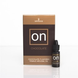 On Chocolate Flavored Female Arousal Oil - .17 Oz. - Large Box