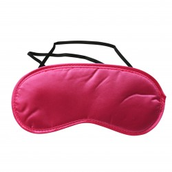 Sex and Mischief Satin Blindfold - Hot Pink