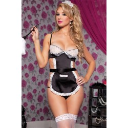 French Maid - One Size - Black