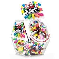 Screaming O Colorpop Bullets - 40 Count Fishbowl - Assorted Colors