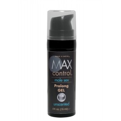 Max 4 Men Control Prolong Gel .5 Oz