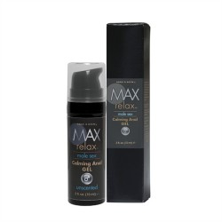 Max 4 Men Relax Calming Anal Gel .5 Oz