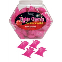 Tight Cherry - Tightening Gel - 72 Piece Fishbowl - 10ml Pillows