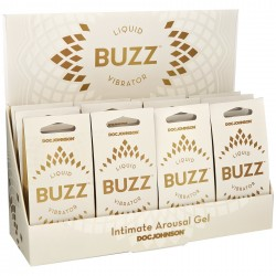 Buzz Liquid Vibrator - 12 Piece Counter Display - Minimum Purchase Required