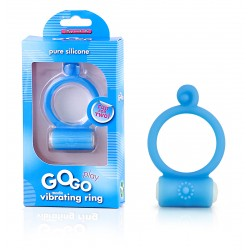 Gogo Play - Reusable Vibrating Ring - Blue