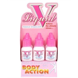 Liquid v for Women - 6 Pack Bottle Display