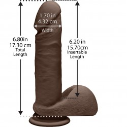 The D - Perfect D 7&quot - Chocolate