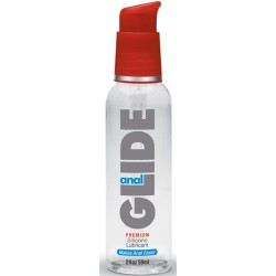 Anal Glide Silicone Lubricant 2 Oz Pump Bottle