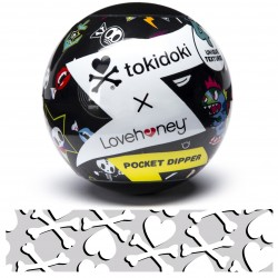 Tokidoki Pocket Dipper Textured Pleasure Cup -  Bones