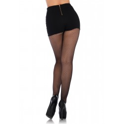 Micro Net Lace Up Tights - One Size