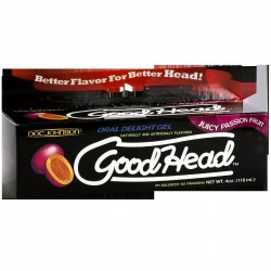 Good Head Oral Delight Gel 4 Oz - Passion Fruit -  Boxed