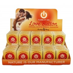 Love Button Arousal Balm - 30 Piece P.O.P. Display