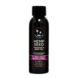 Hemp Seed Massage Oil - 2 Fl. Oz. - Skinny Dip