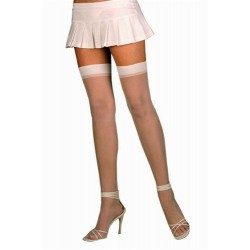 Sheer Thigh High - One Size - Nude