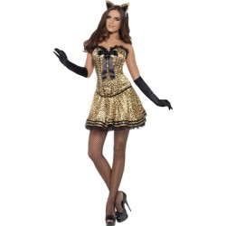 Fever Boutique Kitty Costume - Small