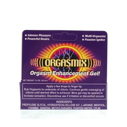 Orgasmix - 1 Oz. Tube - Boxed