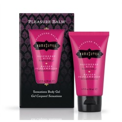 Pleasure Balm Sensations Body Gel  - Raspberry Kiss - 1.7 Fl. Oz
