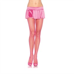 Industrial Net Pantyhose - One Size - Neon Pink