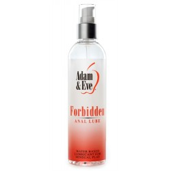 Adam and Eve Forbidden Anal Lube 8 Oz